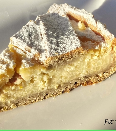 Pastiera napoletana fit senza burro né zuccheri