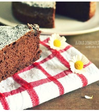 Ciambellone al cioccolato e cannella