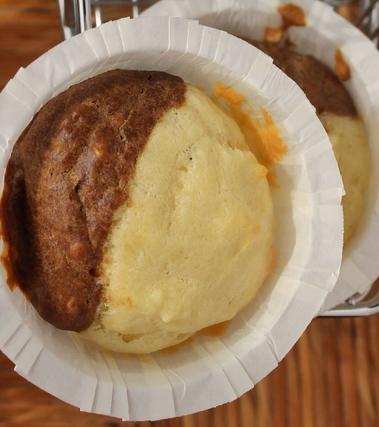 Muffin bigusto al latte di cocco e caffé