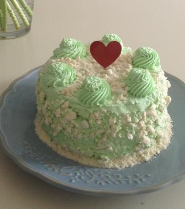 Green lemon cake