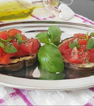 Bruschette di melanzane