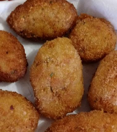 Crocchette   di patate vegane
