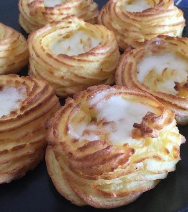 Nidi di patate ripieni di mozzarella
