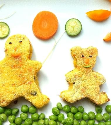 Crocchette di verdure al forno