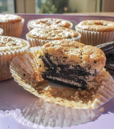 Muffin agli oreo