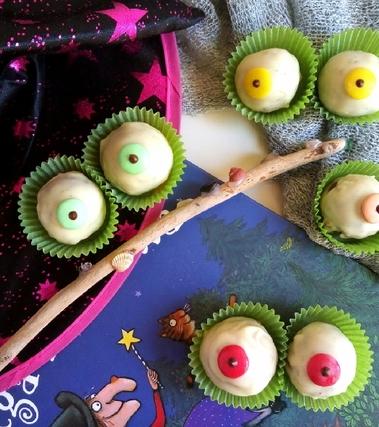 Occhi di strega alle castagne e cioccolato