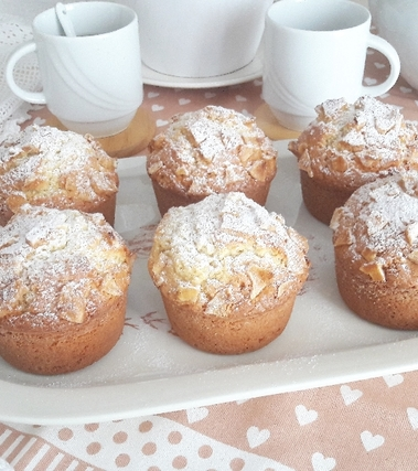 Muffins allo yogurt e banana