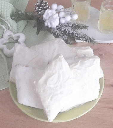Mostaccioli al limoncello e cioccolato bianco