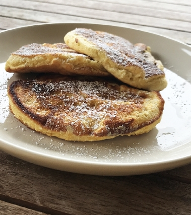Pancakes soffici al cocco