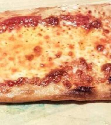 Pizza margherita alta idratazione