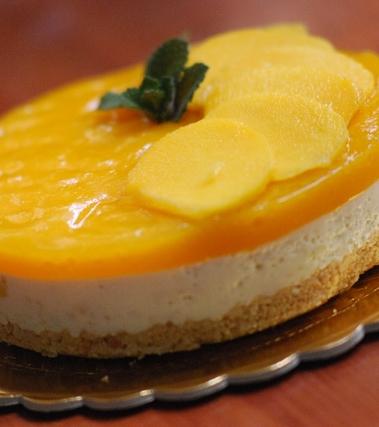 Cheesecake al mango