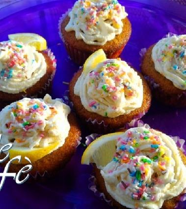 Cupcakes delicati al limone