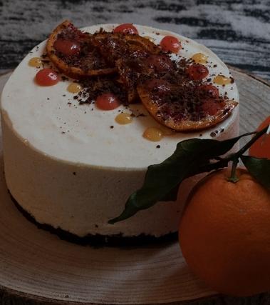 Mousse arancia e cioccolato