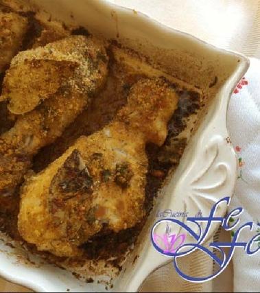 Fusi di pollo marinati