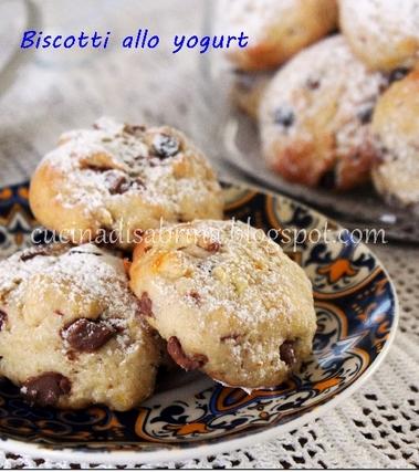 Biscotti allo yogurt pronti in cinque minuti