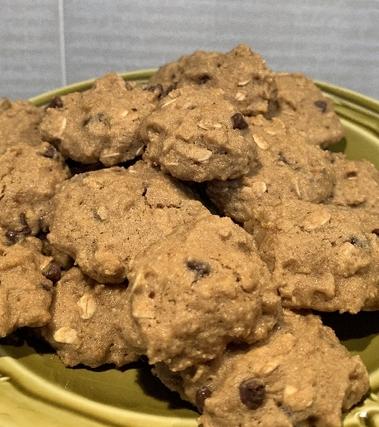Cookies senza glutine con gocce di cioccolato