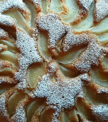 Torta grano saraceno e pere