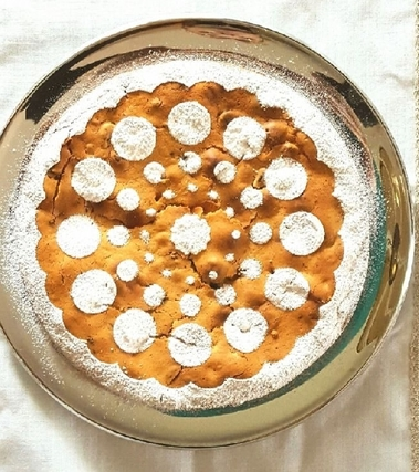 Torta al mascarpone, yogurt e frutti rossi
