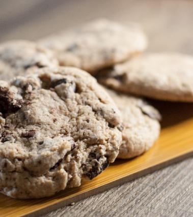 Biscottoni con scaglie di cioccolato