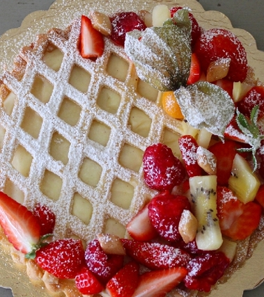 Crostata di frutta fresca e crema pasticciera