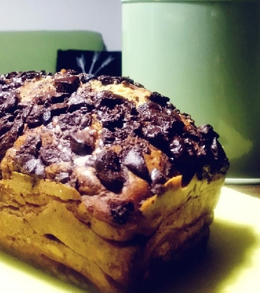 Plum-cake alla banana con farina di riso