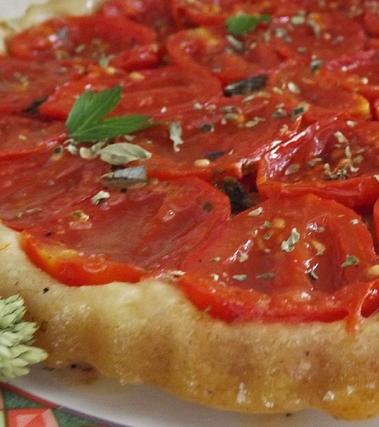 Tatin di pomodori caramellati