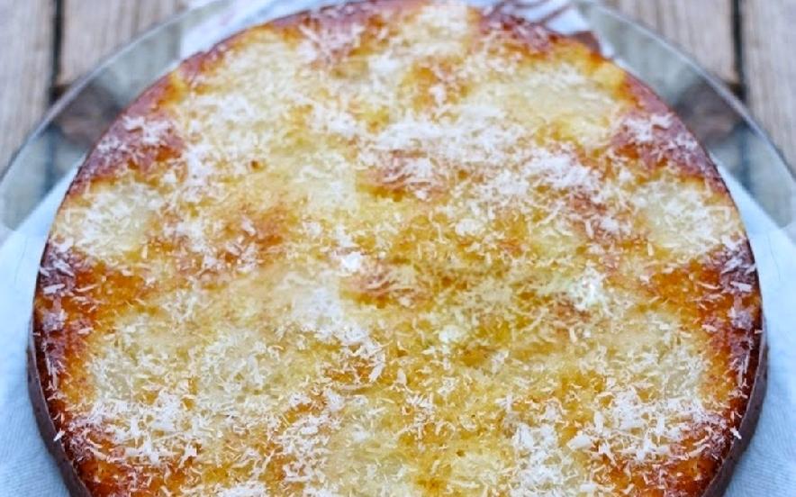 Torta soffice ananas e cocco senza glutine