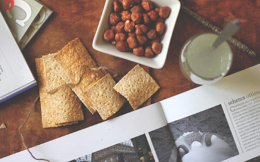 Crackers vegani velocissimi