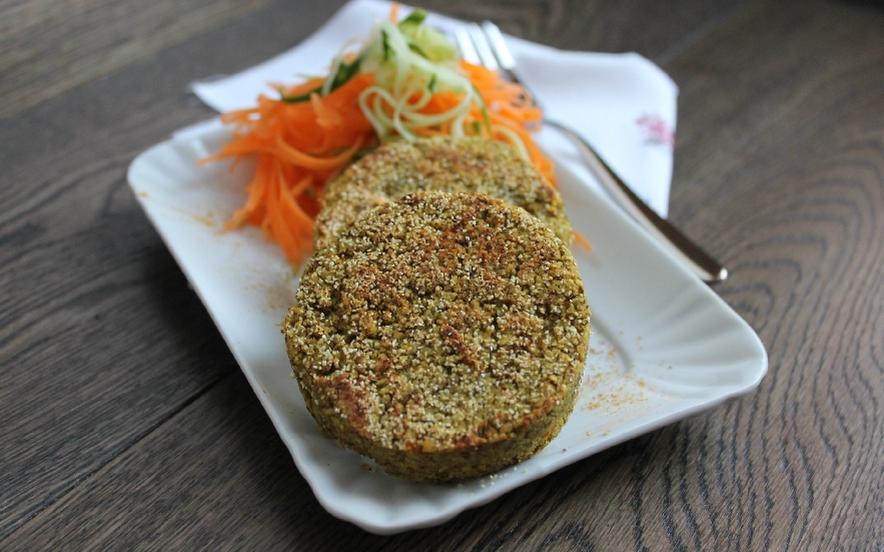 Veggie burger di lenticchie
