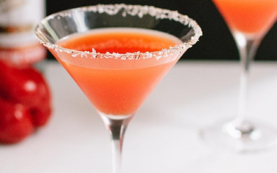 Vodka martini al peperone rosso