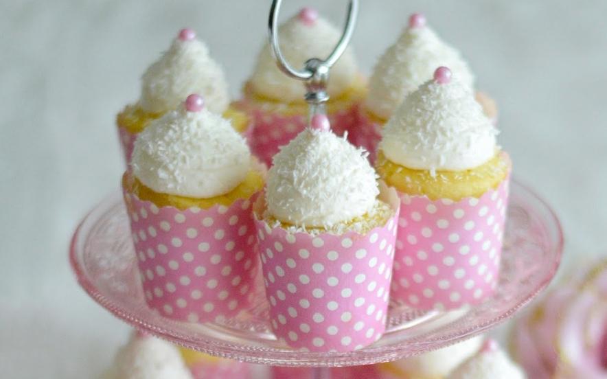 Cupcakes cocco e lime