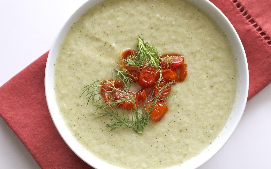 Zuppa di finocchi e zucchine