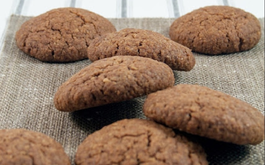 Biscotti vegani cacao e cocco