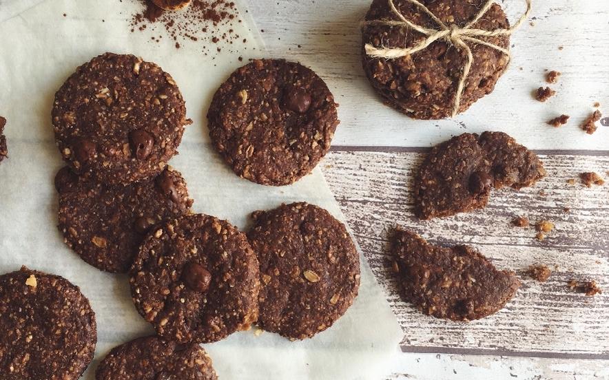 Biscotti ai cereali senza uova e senza burro