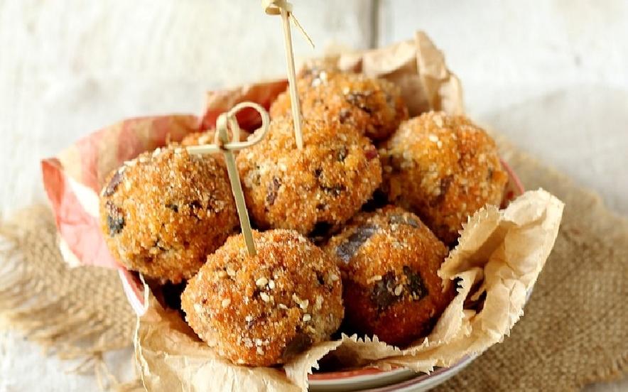 Polpette di cous cous vegetariane