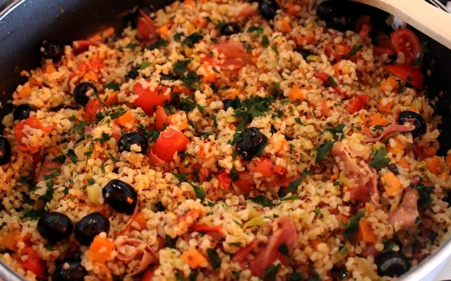 Ricetta Quinoa Con Tonno E Verdure.Ricetta Quinoa Con Verdure Manjoo