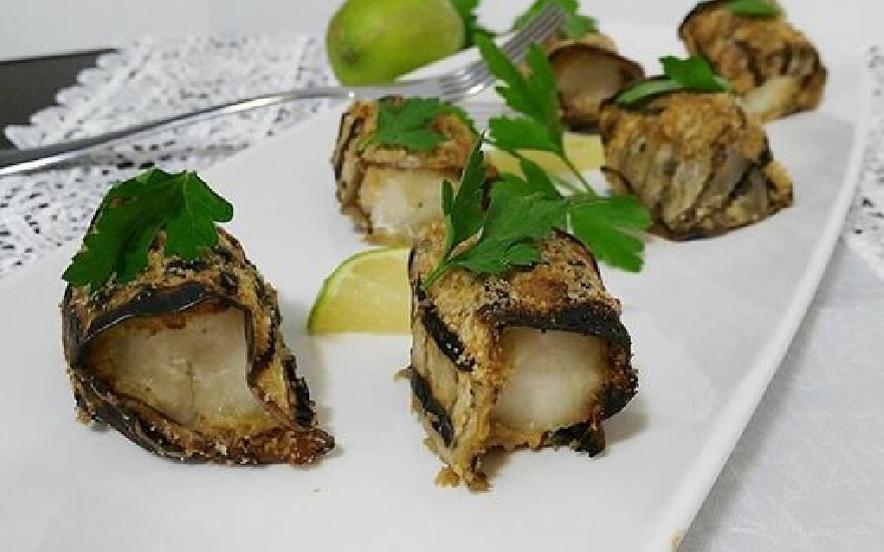 Bocconcini di merluzzo in crosta di emlanzane