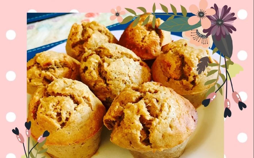 Muffin integrali alla banana e yogurt