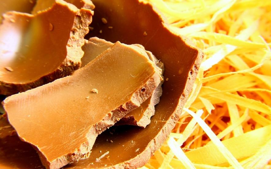 Riciclare l'uovo di Pasqua: biscotti al cioccolato