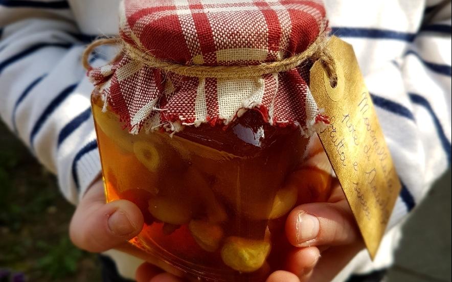 Confettura di pere vaniglia e frutta secca