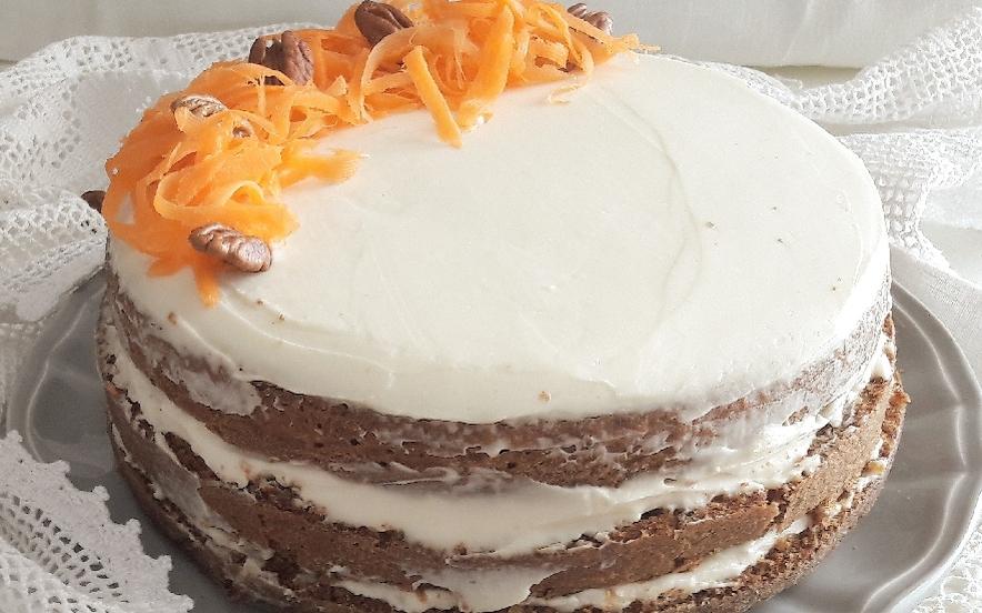 Carrot cake - Torta di carote americana