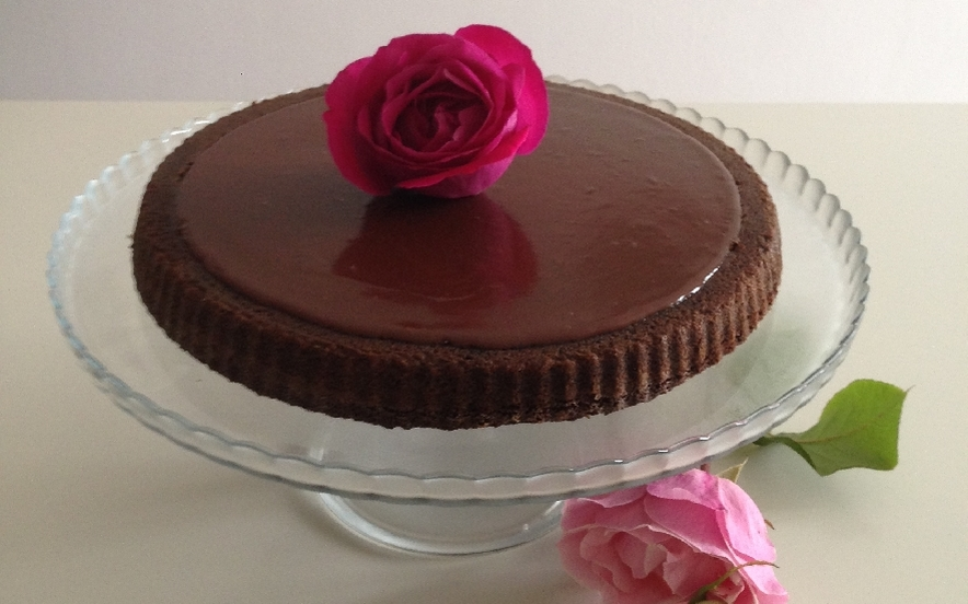 Torta al cioccolato nello stampo furbo