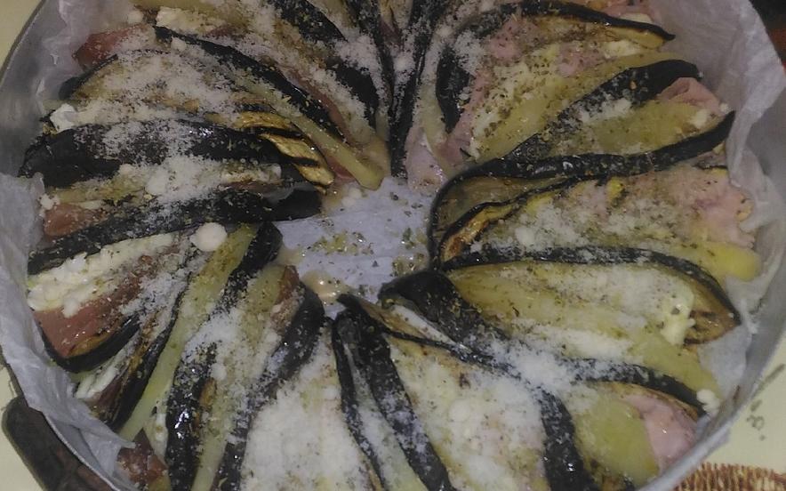 Ciambella di melanzane