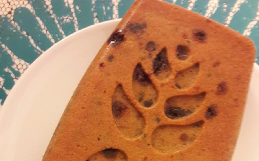 Plumcake vegano con gocce di cioccolato
