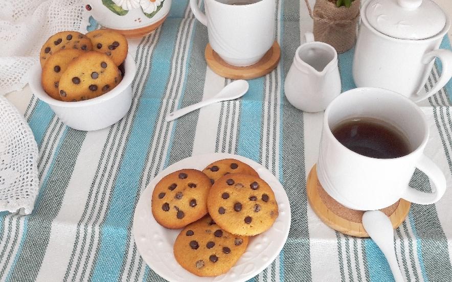 Cookies alla zucca con gocce di cioccolato