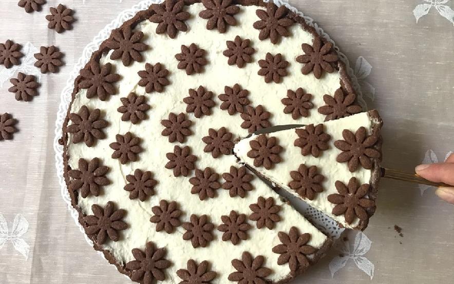Crostata cioccolato e cocco