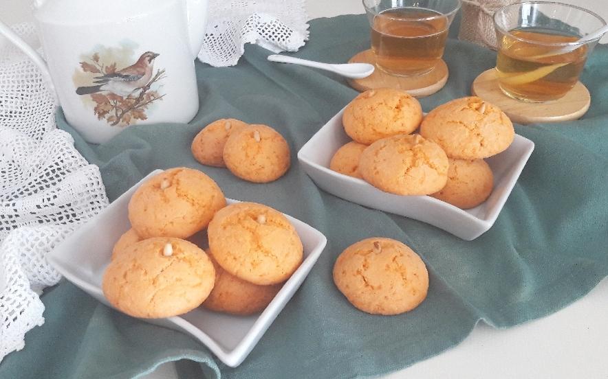 Biscotti di zucca e mandorle