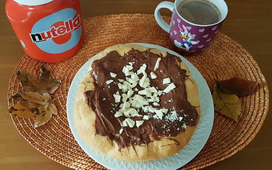 Pizza nutellosa