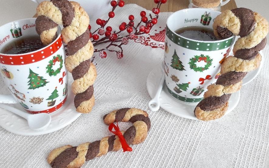 Biscotti bastoncini di Natale