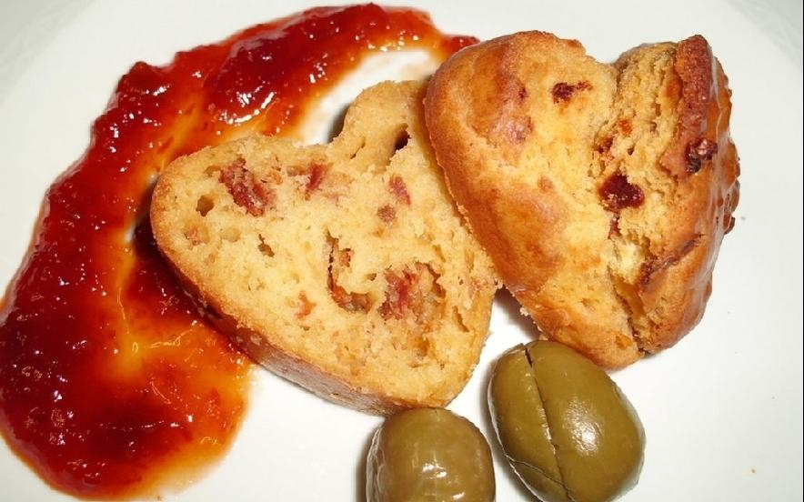 Cuori di muffin al peperoncino cuko